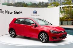 Volkswagen Golf VII modell 2013 Arkivfoto