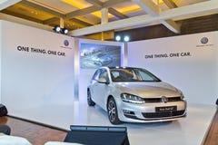 Volkswagen Golf VII modell 2013 Arkivbilder