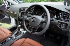 Volkswagen Golf VII modell 2013 Arkivfoton