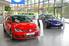 Volkswagen Golf Stock Image