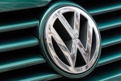 Volkswagen gradbeteckning p arkivfoton