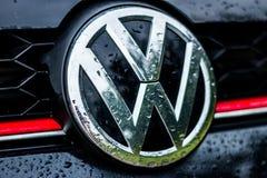 Volkswagen GTI Fotografering för Bildbyråer