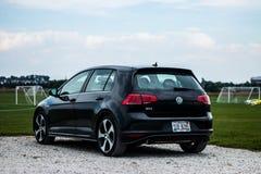 Volkswagen GTI fotografia de stock royalty free