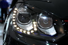 Volkswagen GTI Headlamps Royalty Free Stock Photos