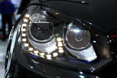 Volkswagen GTI pannlampor Royaltyfria Foton