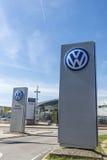 Volkswagen headquarters, Barcelona Royalty Free Stock Photography
