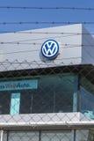 Volkswagen-hoofdkwartier, Barcelona Stock Afbeeldingen
