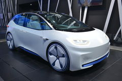 Volkswagen I.D. electric concept car Royalty Free Stock Photography