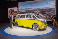 Volkswagen I D GEZOEMconcept Royalty-vrije Stock Fotografie