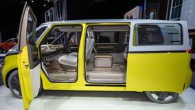 Volkswagen I d SUMMEN Konzept Stockfotografie