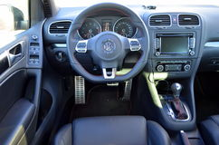 Volkswagen interior Stock Photos