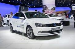 Volkswagen Jetta υβριδικό BlueMotion Στοκ Εικόνα