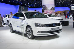 Volkswagen Jetta Hybrid BlueMotion Immagine Stock