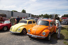 Volkswagen Kaefer Meeting in Celle, Germany Royalty Free Stock Images