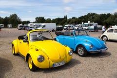 Volkswagen Kaefer Meeting in Celle, Germany Stock Images