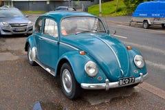 Volkswagen Kafer em Lappeenranta Fotos de Stock Royalty Free