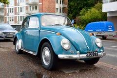 Volkswagen Kafer em Lappeenranta Fotografia de Stock Royalty Free