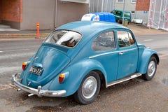 Volkswagen Kafer i Lappeenranta Fotografering för Bildbyråer