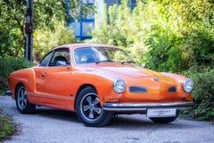 Volkswagen Karmann Ghia royalty-vrije stock afbeeldingen