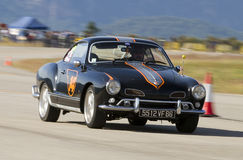 Volkswagen Karmann Ghia Royalty Free Stock Photo