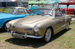 Volkswagen Karmann Ghia Royalty Free Stock Photos