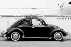 Volkswagen-kever klassieke auto Stock Foto