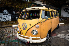 Volkswagen Kombi Fotografía de archivo libre de regalías