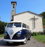 Volkswagen Kombi Στοκ εικόνα με δικαίωμα ελεύθερης χρήσης