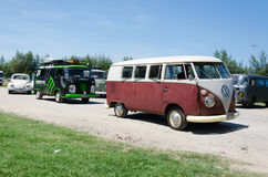 Volkswagen Kombi Royalty Free Stock Photos
