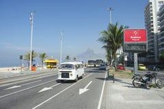Volkswagen Kombi Van Rio de Janeiro Brazil Royalty Free Stock Image