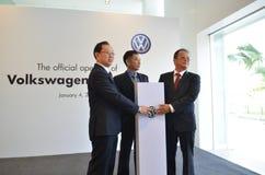 Volkswagen Kuantan, abertura oficial 2012 Fotografia de Stock