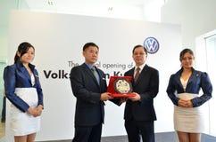 Volkswagen Kuantan, abertura oficial 2012 Imagens de Stock