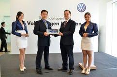 Volkswagen Kuantan, abertura oficial 2012 Imagens de Stock Royalty Free