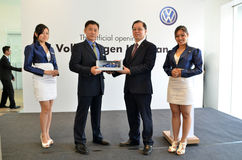 Volkswagen Kuantan, amtliche Öffnung 2012 Lizenzfreie Stockbilder