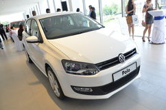 Volkswagen Kuantan, lançamento 2012 da sala de exposições de Malaysia Fotos de Stock Royalty Free