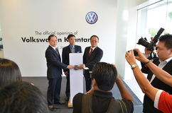 Volkswagen Kuantan, Official Opening 2012 Stock Photography