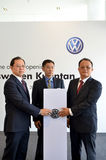 Volkswagen Kuantan, Official Opening 2012 Stock Photo
