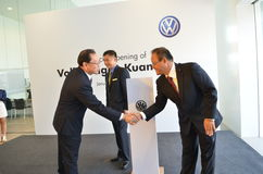 Volkswagen Kuantan, Official Opening 2012 Stock Photos