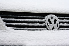 Volkswagen logo Royalty Free Stock Photo