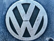 Volkswagen Logo Royalty Free Stock Photos