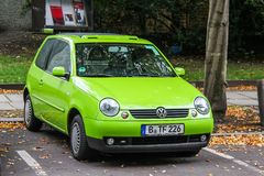 Volkswagen Lupo Στοκ φωτογραφίες με δικαίωμα ελεύθερης χρήσης