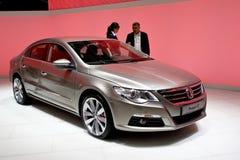 Volkswagen metallico Passat cc fotografie stock