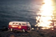 Volkswagen Microbus Fotografering för Bildbyråer
