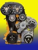 Volkswagen-motor voor Duitse auto's royalty-vrije stock foto