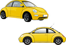 Volkswagen New Beetle Royalty Free Stock Photos