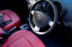 Volkswagen new beetle interior Stock Image