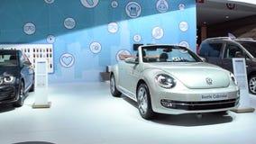 Volkswagen New Beetle-Kabriolett stock video footage