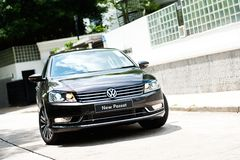 Volkswagen New Passat Stock Photography