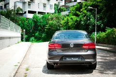 Volkswagen New Passat Royalty Free Stock Images