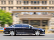 Volkswagen Passat στο δρόμο, Πεκίνο, Κίνα Στοκ φωτογραφία με δικαίωμα ελεύθερης χρήσης